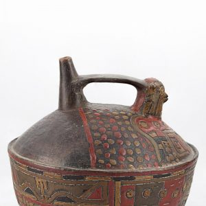 UCLA Fowler Museum Collection: X90.491 Paracas vessel right view