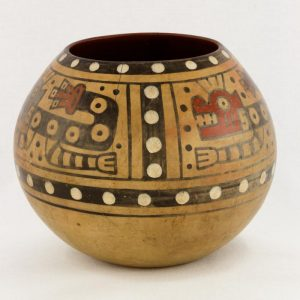 UCLA Fowler Museum Collection: X90.492 Wari vessel back view