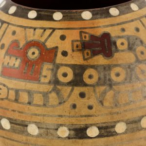 UCLA Fowler Museum Collection: X90.492 Wari vessel detailed view