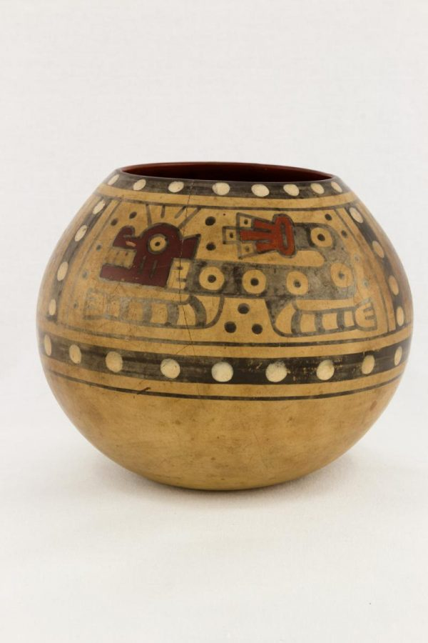 UCLA Fowler Museum Collection: X90.492 Wari vessel front view