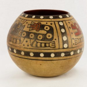 UCLA Fowler Museum Collection: X90.492 Wari vessel left view