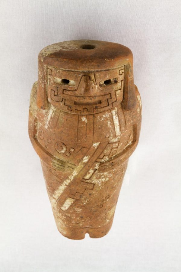 UCLA Fowler Museum Collection: X90.493 Chavin vessel front view