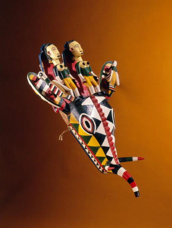 UCLA Fowler Museum Collection: X90.193 Bamana Elephant Puppet-Mask