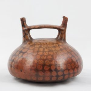 UCLA Fowler Museum Collection: X90.483 Paracas vessel back view