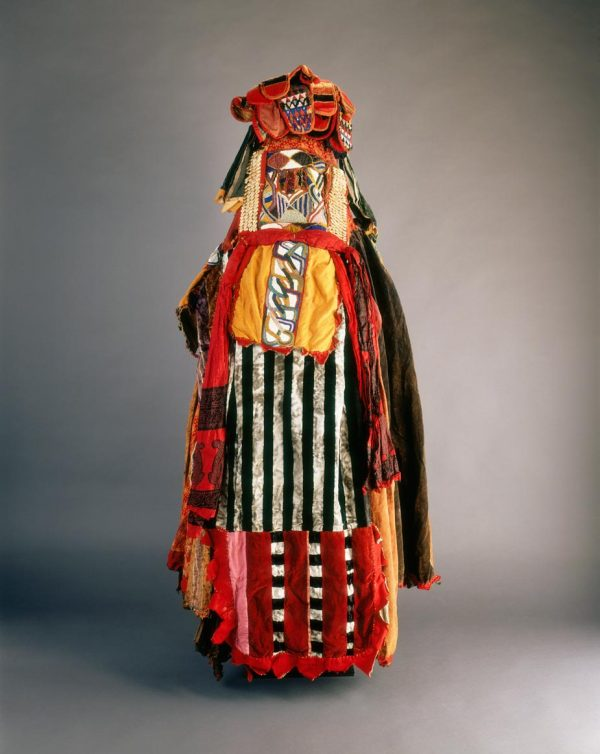 UCLA Fowler Museum Collection: X90.694 Mask ensemble