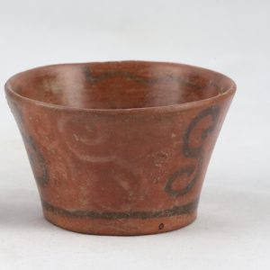 UCLA Fowler Museum Collection: X91.1543 Tiwanacu vessel back view