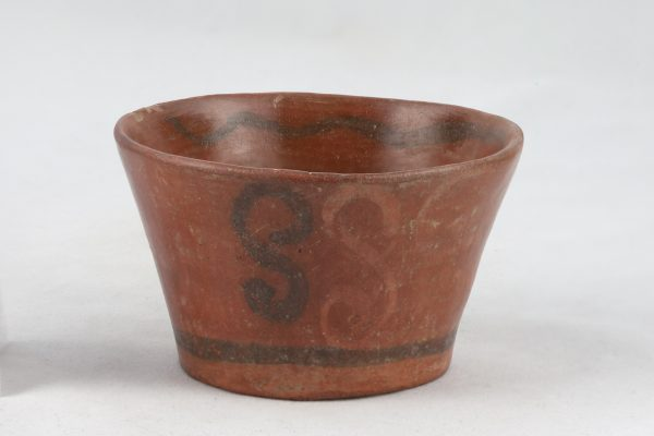 UCLA Fowler Museum Collection: X91.1543 Tiwanacu vessel front view