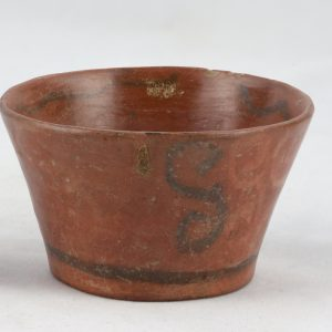 UCLA Fowler Museum Collection: X91.1543 Tiwanacu vessel right view