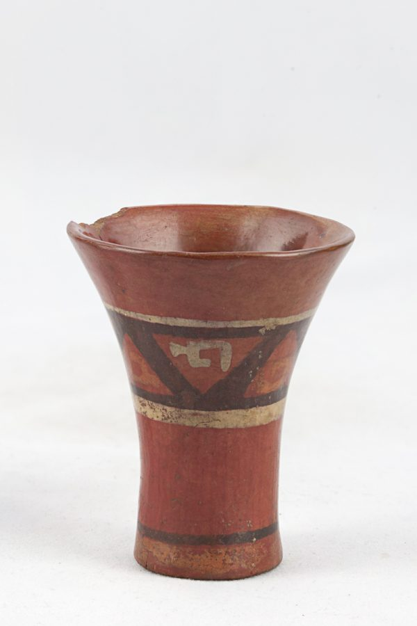 UCLA Fowler Museum Collection: X91.1545 Tiwanacu vessel front view