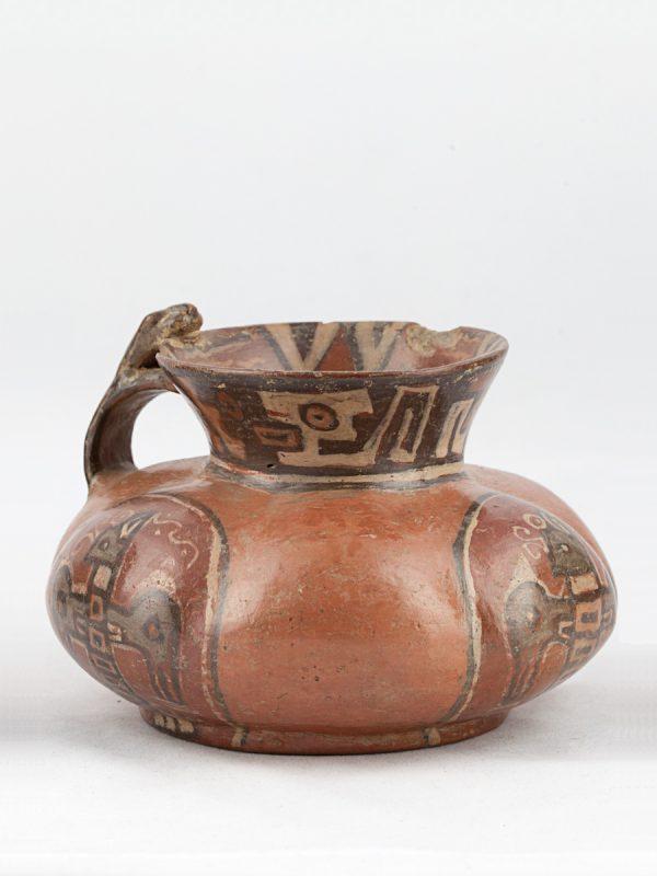 UCLA Fowler Museum Collection: X91.1546 Churajon vessel angle view