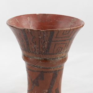 UCLA Fowler Museum Collection: X91.1547 Tiwanacu vessel angle view