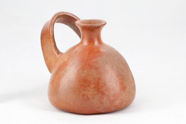 UCLA Fowler Museum Collection: X91.1556 Inca vessel angle view
