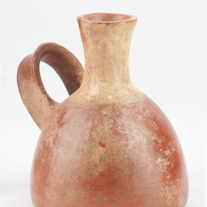 UCLA Fowler Museum Collection: X91.1557 Inca vessel angle view