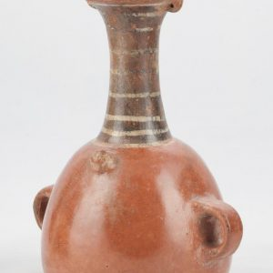 UCLA Fowler Museum Collection: X91.1558 Inca vessel angle view