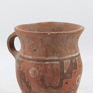 UCLA Fowler Museum Collection: X91.23 Wari vessel angle view