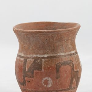 UCLA Fowler Museum Collection: X91.23 Wari vessel front view