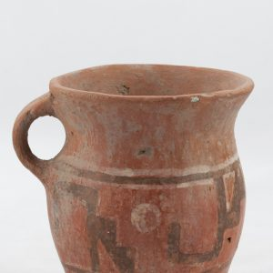 UCLA Fowler Museum Collection: X91.23 Wari vessel left view