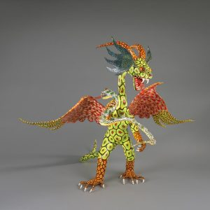 UCLA Fowler Museum Collection: X91.240A-D Figure (alebrije) front view