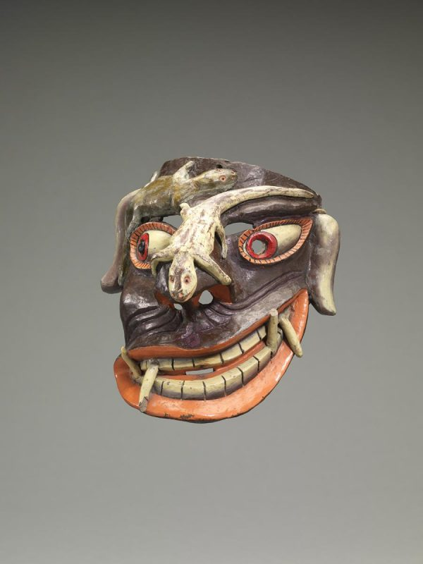 UCLA Fowler Museum Collection: X91.2505 Tastoán mask front view