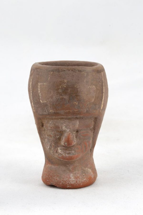 UCLA Fowler Museum Collection: X91.25 Tiwanacu vessel front view