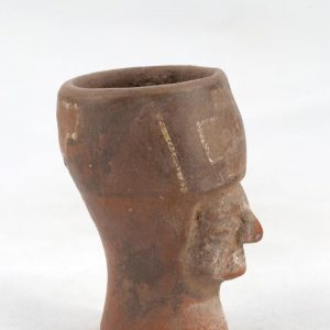 UCLA Fowler Museum Collection: X91.25 Tiwanacu vessel left view