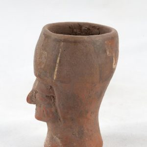 UCLA Fowler Museum Collection: X91.25 Tiwanacu vessel right view