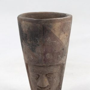 UCLA Fowler Museum Collection: X91.26 Tiwanacu vessel front view