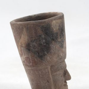 UCLA Fowler Museum Collection: X91.26 Tiwanacu vessel left view