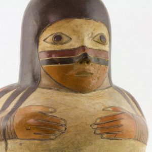 UCLA Fowler Museum Collection: X91.627 Proto Nasca Vessel detailed view