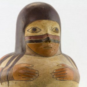 UCLA Fowler Museum Collection: X91.627 Proto Nasca Vessel top detailed view