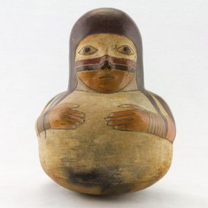 UCLA Fowler Museum Collection: X91.627 Proto Nasca Vessel front view