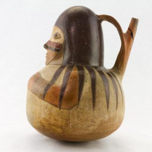UCLA Fowler Museum Collection: X91.627 Proto Nasca Vessel left view