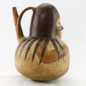 UCLA Fowler Museum Collection: X91.627 Proto Nasca Vessel right view