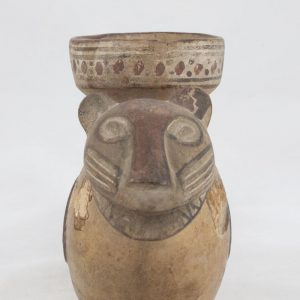 UCLA Fowler Museum Collection: X91.638 Chimu Inca vessel front view
