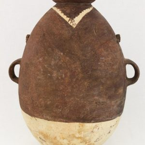 UCLA Fowler Museum Collection: X91.78 Chancay vessel back view