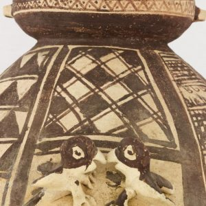 UCLA Fowler Museum Collection: X91.78 Chancay vessel detailed view