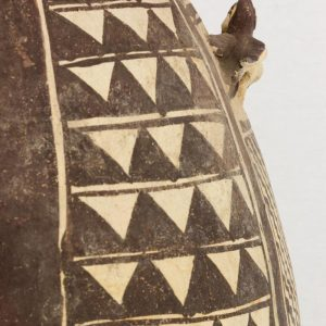 UCLA Fowler Museum Collection: X91.78 Chancay vessel detailed side view