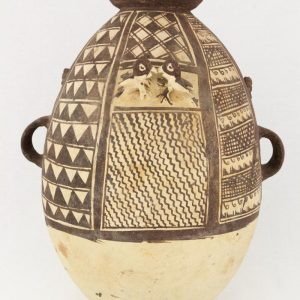 UCLA Fowler Museum Collection: X91.78 Chancay vessel front view