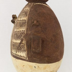 UCLA Fowler Museum Collection: X91.78 Chancay vessel left view