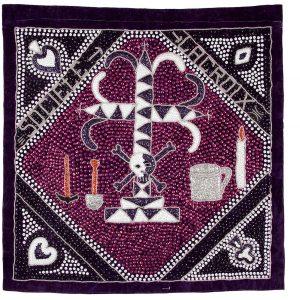 UCLA Fowler Museum Collection: X91.86 Société La Croix (Sosyete Lakwa)