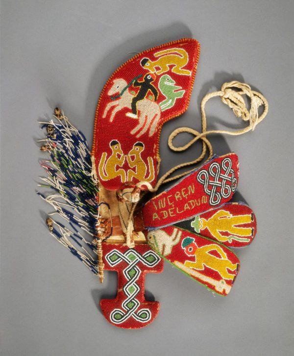 UCLA Fowler Museum Collection: X91.1636 Beaded sheath