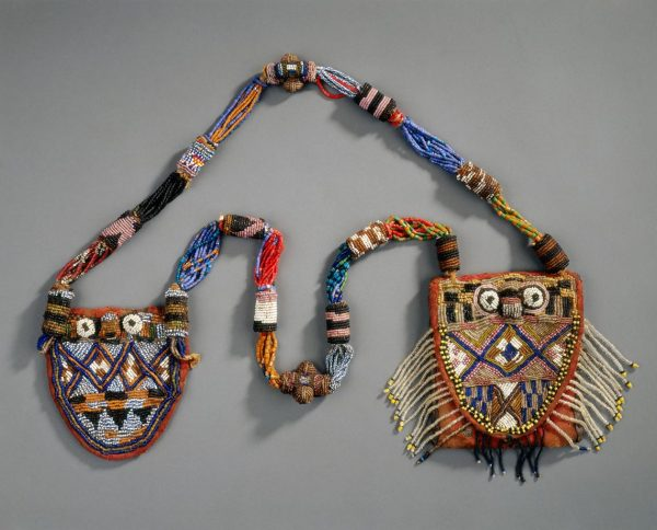 UCLA Fowler Museum Collection: X91.1640 Beaded necklace