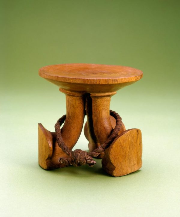 UCLA Fowler Museum Collection: X91.309 Headrest/stool