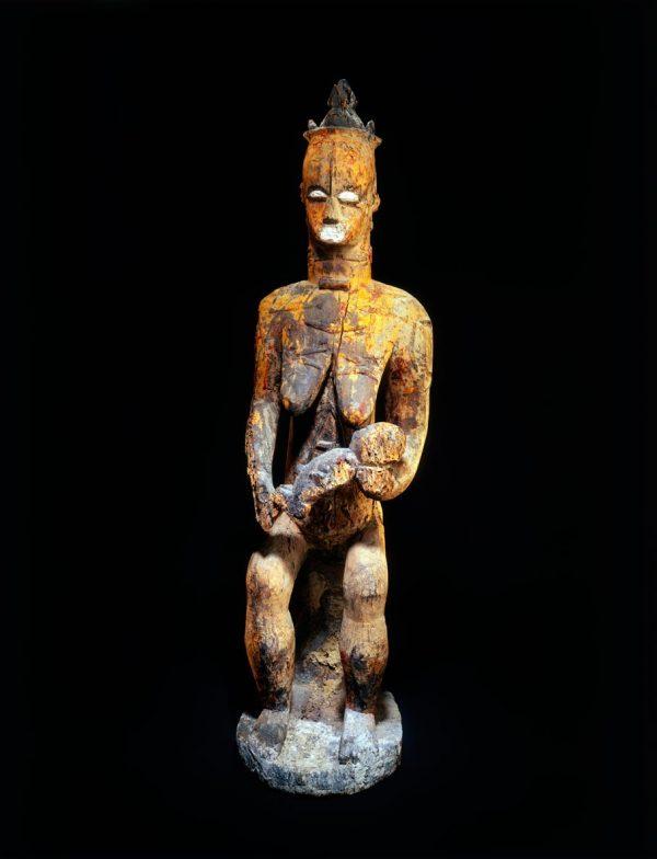 UCLA Fowler Museum Collection: X91.338 Female shrine figure