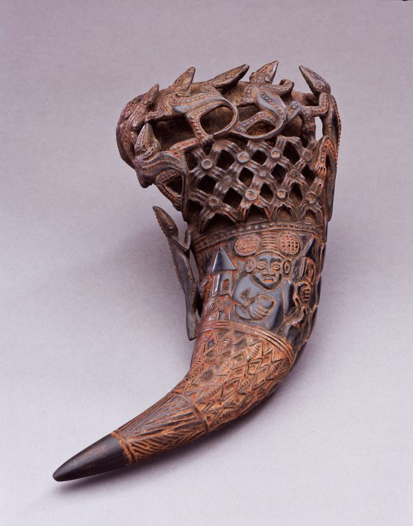 UCLA Fowler Museum Collection: X91.410 Drinking horn