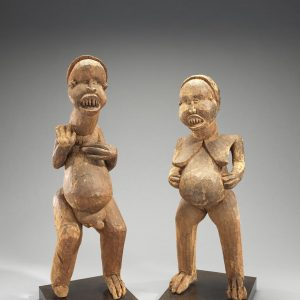 UCLA Fowler Museum Collection: X92.29AB Male and female figures