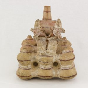 UCLA Fowler Museum Collection: X92.311 Lambayeque vessel front view