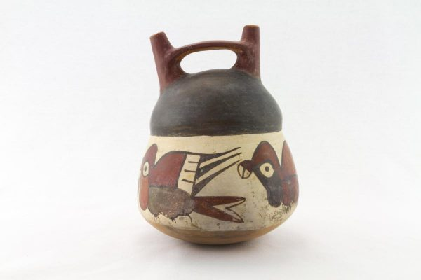 UCLA Fowler Museum Collection: X92.353 Nasca vessel back view