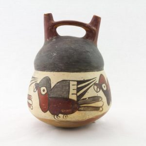 UCLA Fowler Museum Collection: X92.353 Nasca vessel front view