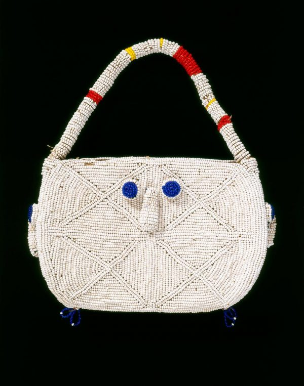 UCLA Fowler Museum Collection: X92.159 Beaded Bag